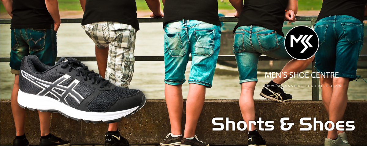 What shoes should men wear with shorts