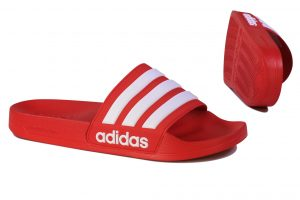 Red Adidas Sandals