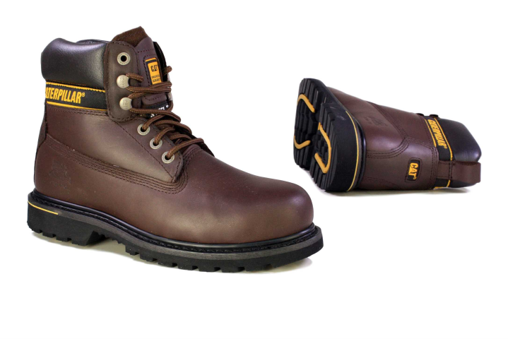 Brown Safety Shoes for Men