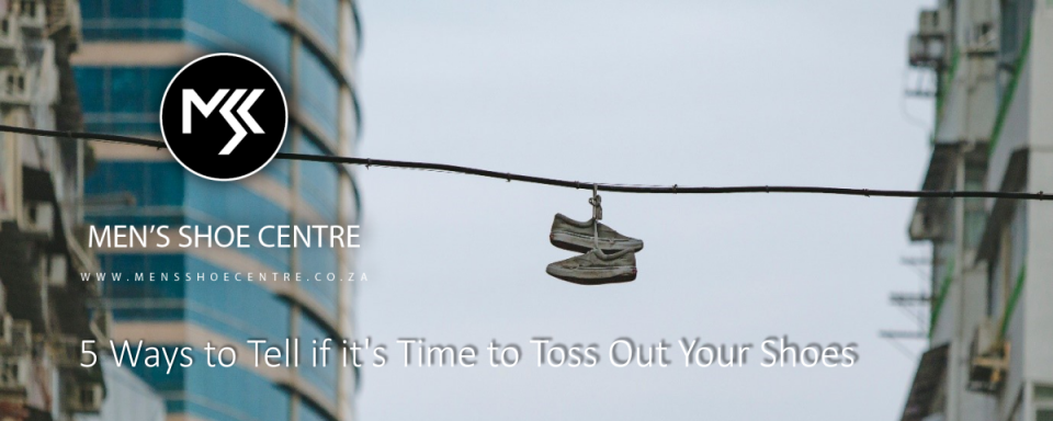 5 Ways to Tell if it's Time to Toss Out Your Shoes