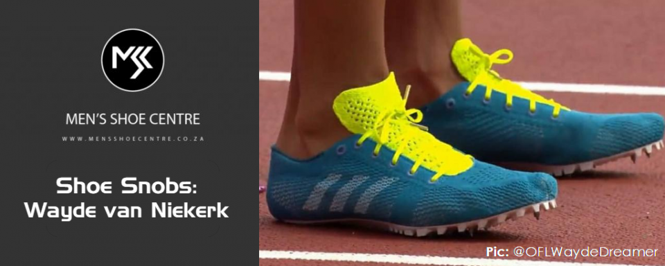 Shoe Snobs: Wayde van Niekerk and the Adidas NMD