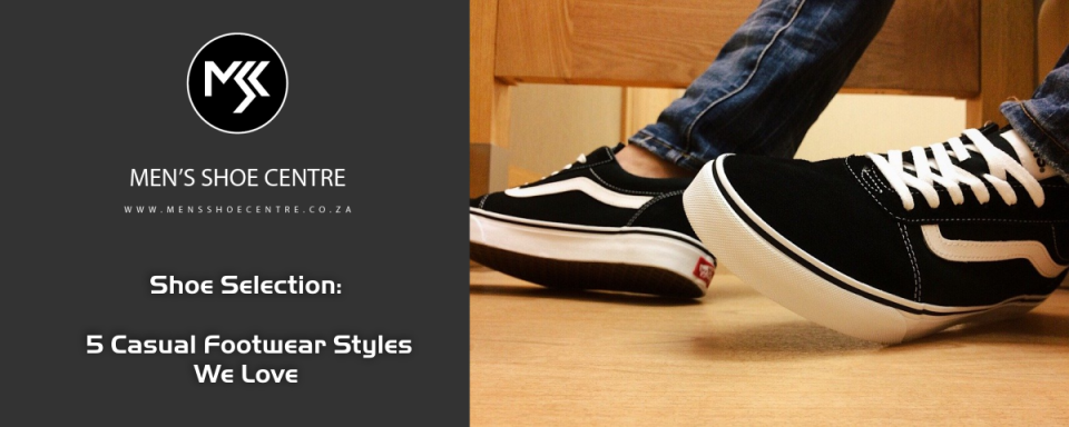 Mens Shoes Centre uncovers 5 casual footwear styles we love